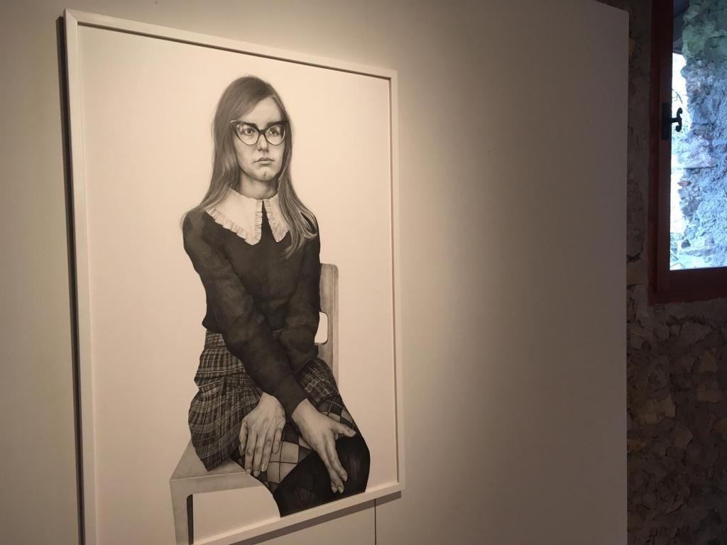 Elena Surovet-matita su carta