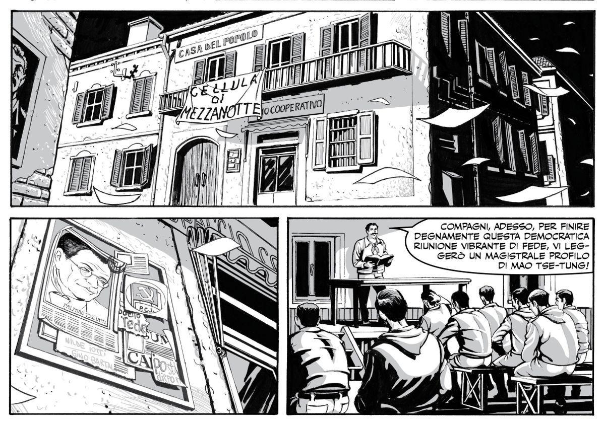 Don Camillo e Peppone alla Casa degli Artisti